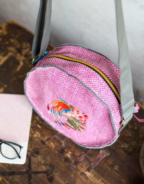 Rundtasche - Taschenspieler 5 - farbenmix - Taschen nähen