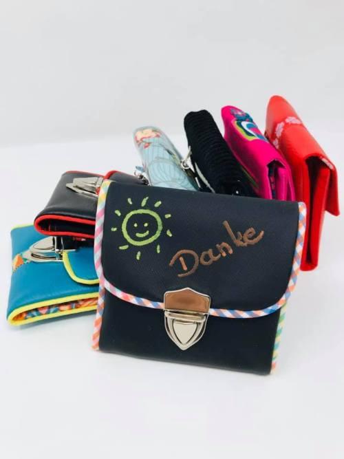 Ebook von farbenmix - Rosi - Design Puschenhexe - Geldbörse nähen