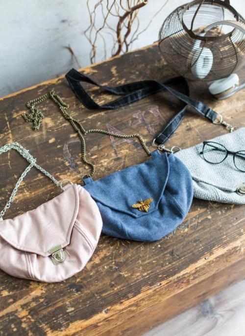 KleineFeine aus der Taschenspieler 5 Serie farbenmix Taschen Ebooks Schnittmuster