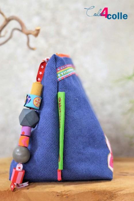 Bunte Taschen Kosmetiktaschen nähen mit farbemix Taschenvielfalt Taschenspieler 5