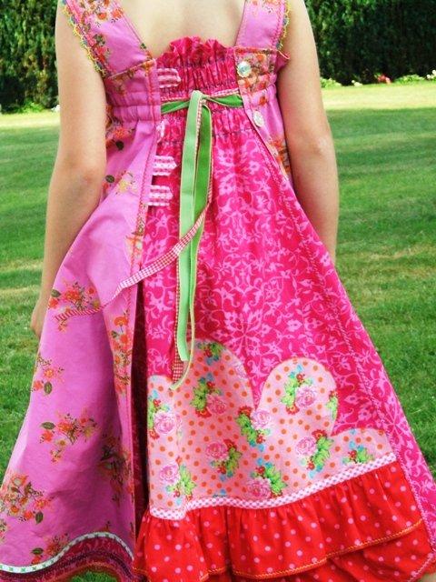 Feliz Mädchenkleid nähen farbenmix Ebook