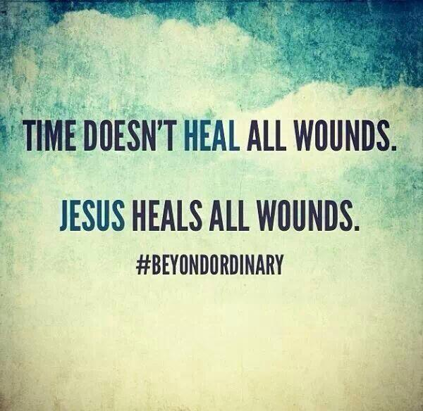 Jesus Heals All Wounds