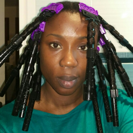 My hair: testing out the CWKgirls plates