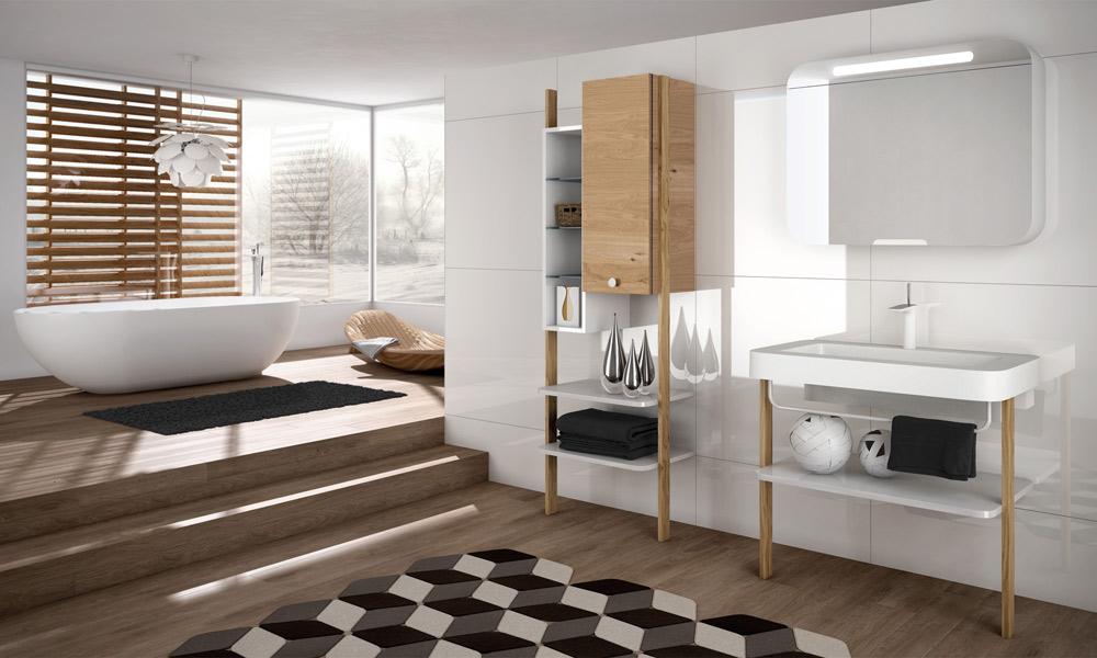 Le Style Scandinave Dans La Salle De Bains Inspiration Bain