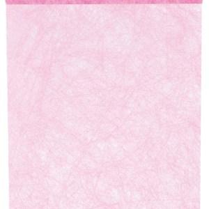 Chemin table Fanon rose