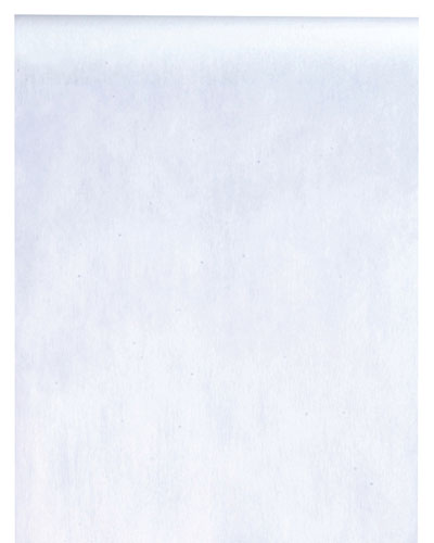 Chemin table intissé blanc
