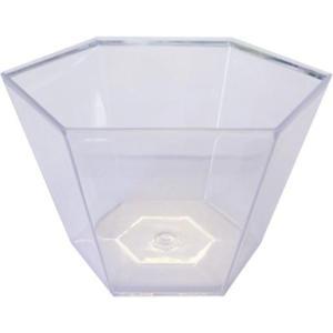 Coupelle hexagonale cristal