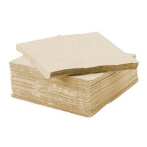 Serviette ouate de cellulose vanille