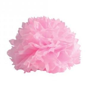 Boule crépon rose
