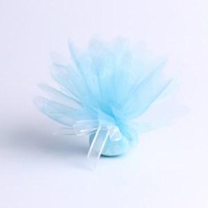 Tulle bleu