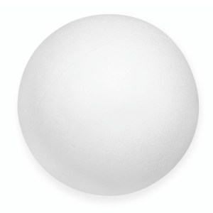 Boule en en polystyrène