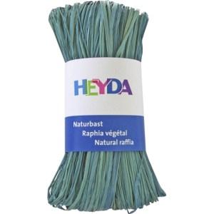 Raphia végétal - turquoise