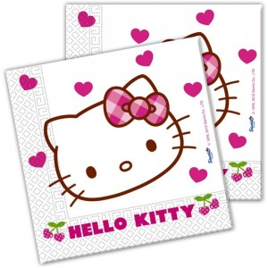 Serviette Hello Kitty