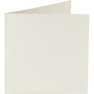 Papicolor carte double 140 x 140 - crème