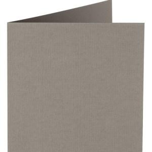Papicolor carte double 140 x 140 - gris