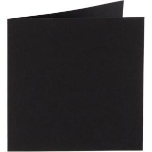 Papicolor carte double 140 x 140 - noir