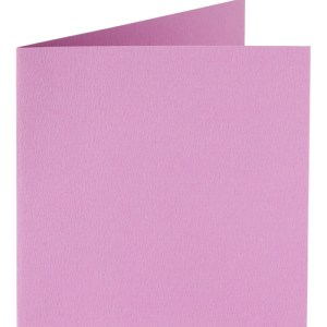 Papicolor carte double 140 x 140 - rose