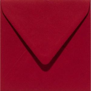 Papicolor enveloppe 140 x 140 - bordeaux