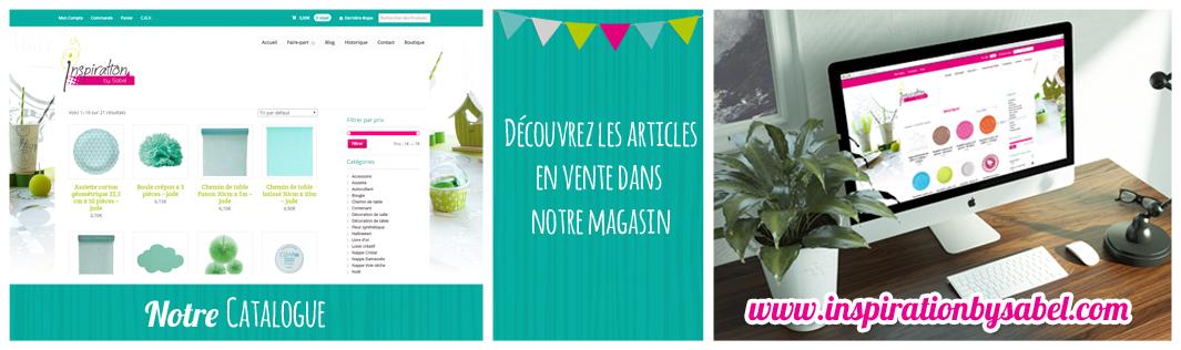 Catalogue en ligne
