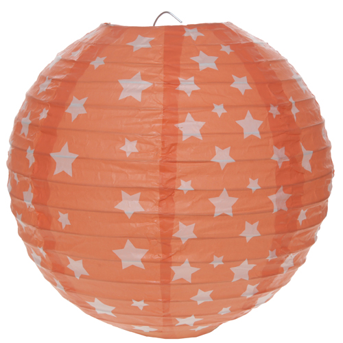 Lanterne étoile - corail