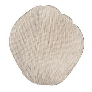 Pétale en tissus - taupe