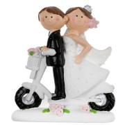 Mariés scooter - blanc