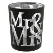 Photophore Mr et Mrs - noir