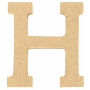 Lettre en bois 5 cm - H