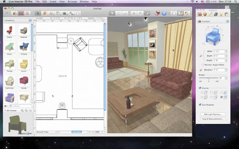 logiciel cuisine et salle de bain 3d