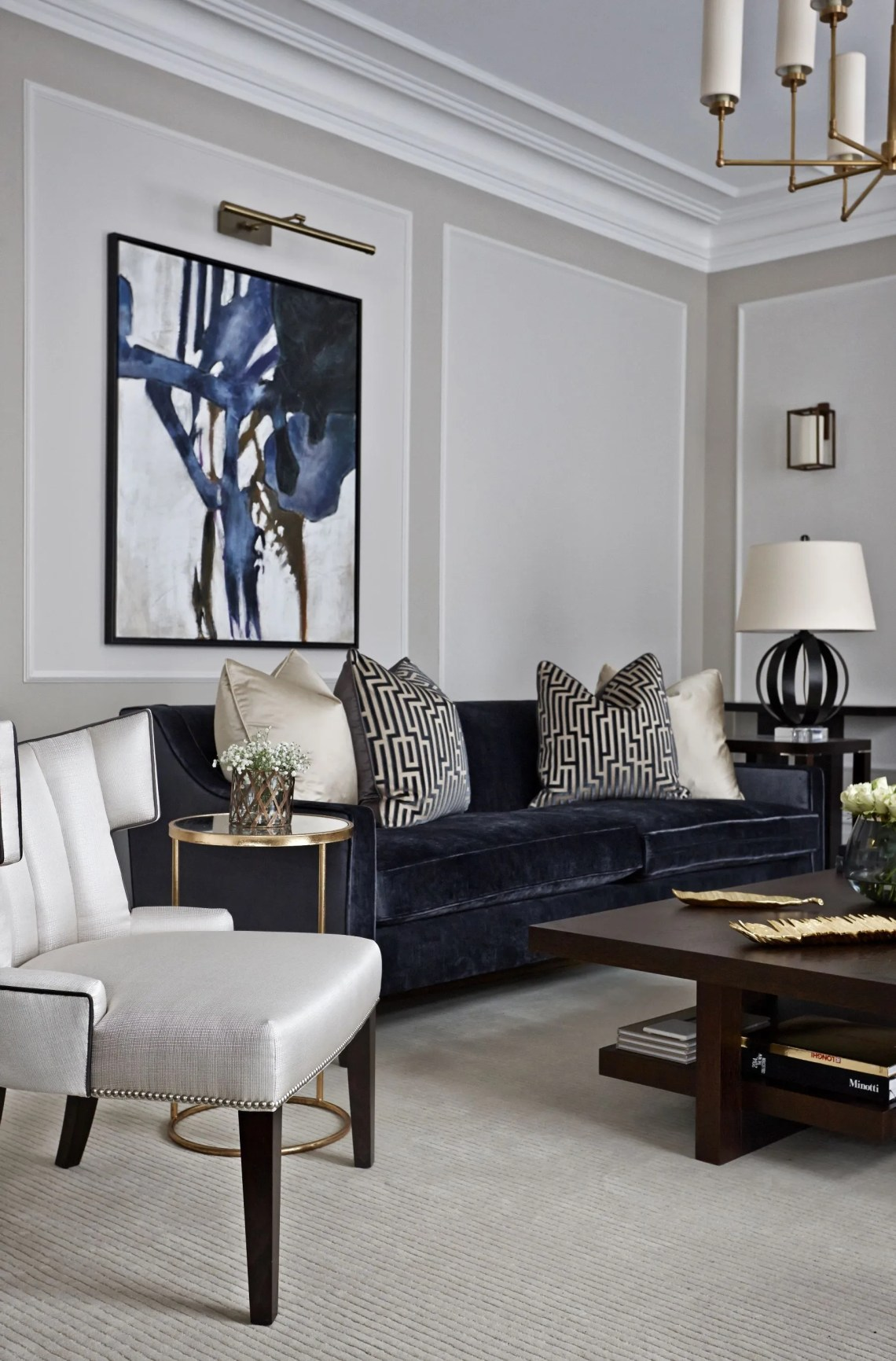 How to Get a Modern Classic Living Room
