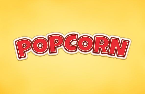 popcorn-text-effect