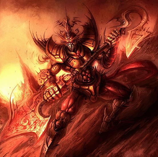 Big Warrior 55 Captivating Examples of Illustration Art