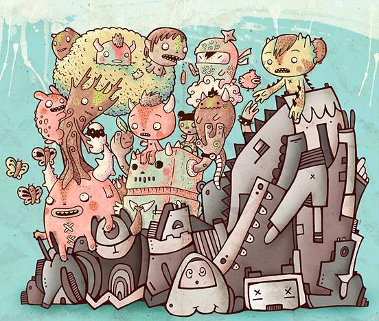 Bisparulz Vs KDoodles 55 Captivating Examples of Illustration Art