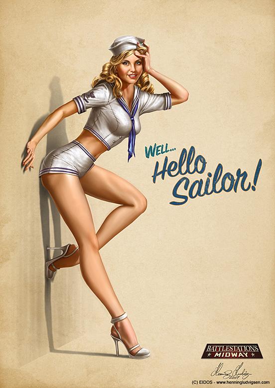 NavyGirl 55 Captivating Examples of Illustration Art