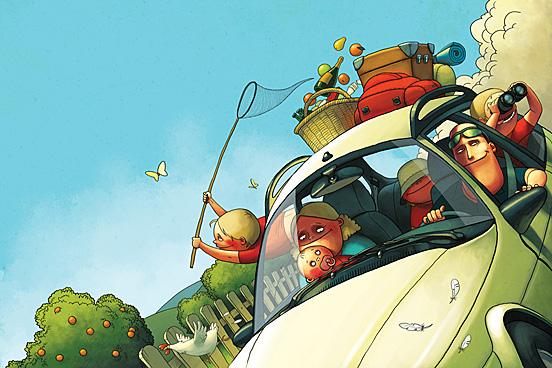 Sunday 55 Captivating Examples of Illustration Art