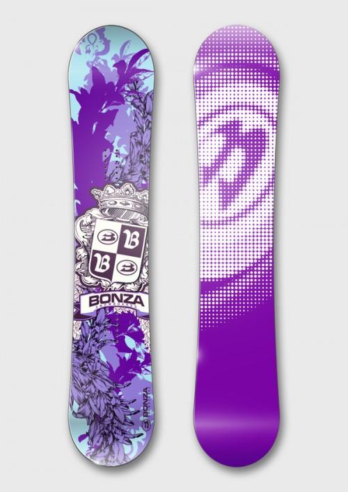 Snowboard Design by Mikhail Karagezyan