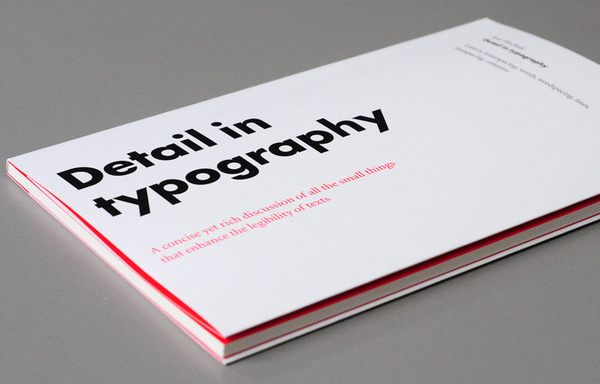 Detail In Typography by Jost Hochuli