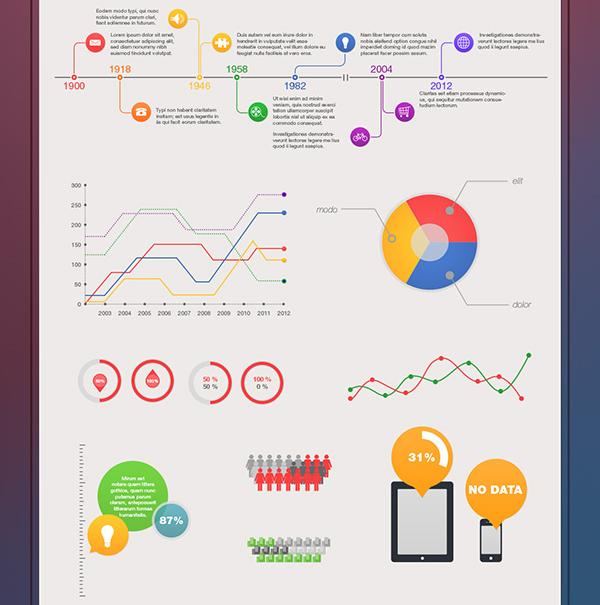 Magnolia Free Infographic Kit