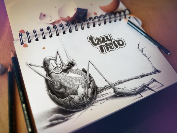 Sketchbook Art by Pez8