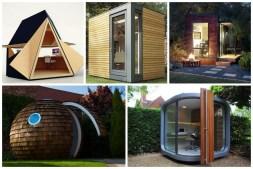 Tiny Back Yard Office Pod Designs