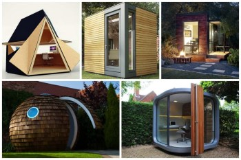 Tiny Back Yard Office Pod Designs