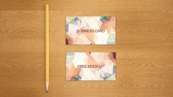 Business card free mock up PSD