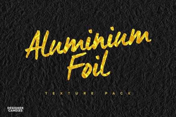 Free Aluminum Foil Textures Pack
