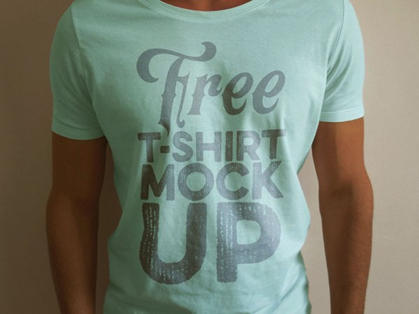 Free T-shirt Mock-up Template by Deal Jumbo