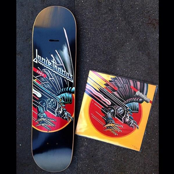 Skateboard deck by Zero, shoot by djmikerock