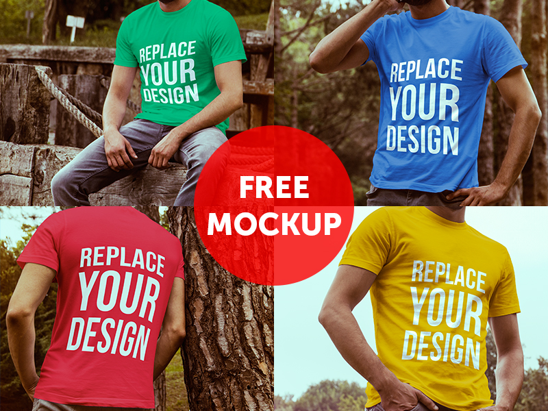 Download Mockup Kaos Online Yellowimages