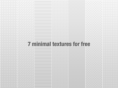 7 Textures Patterns by Tsvetelin Nikolov