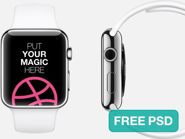 Apple Watch Free Template by Juan Carlos Ferraris
