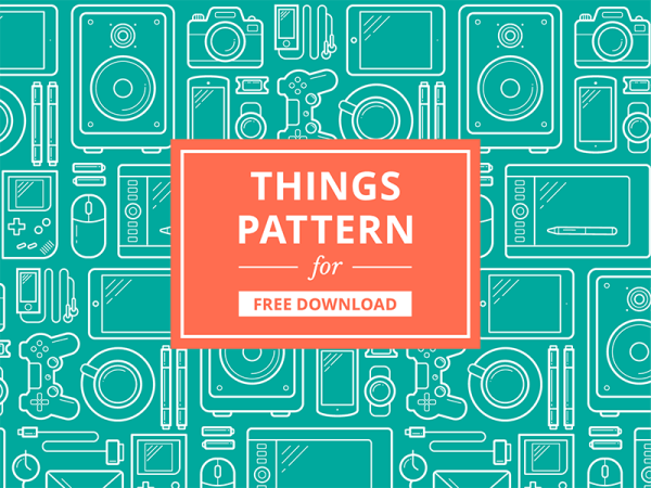 Things Pattern by Andrey Kravchenko
