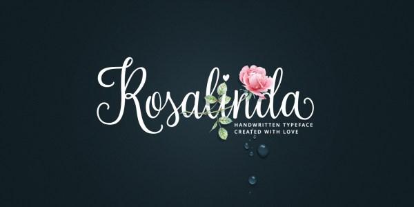 Rosalinda Script by My Creative Land